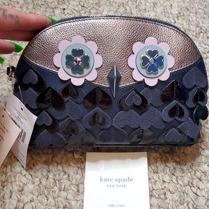 NWT Kate Spade Owl Makeup Bag